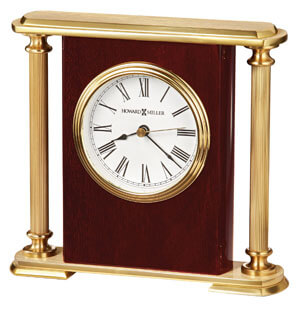 Howard Miller Rosewood Encore Bracket 645 104 : Table Clocks :: Tabletop